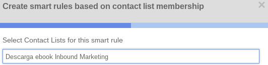 ejemplo call to action hubspot por lista