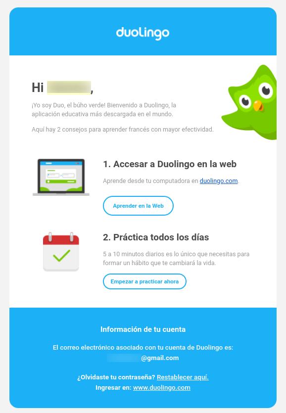 Email-Bienvenida-Duolingo