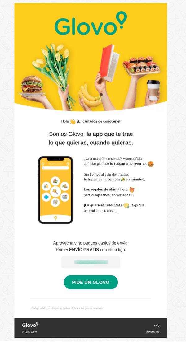 Email-Bienvenida-Glovo