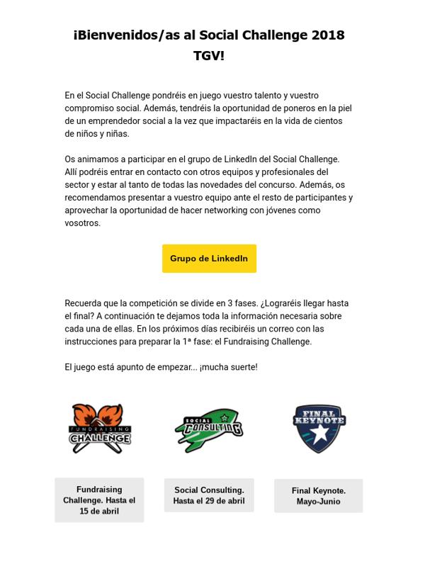 Email-Bienvenida-Social Challenge