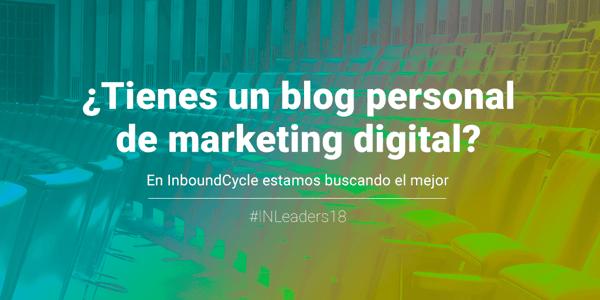 Inbound Leaders 2018 - Concurso de blogs de marketing digital