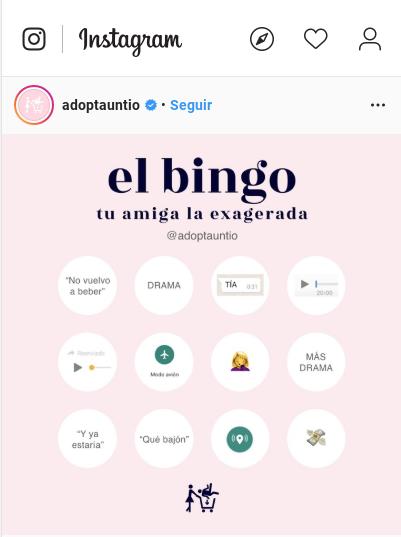 Instagram Adoptauntio