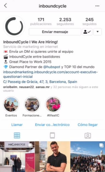 Instagram InboundCycle