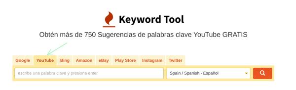 Keyword Tool Youtube