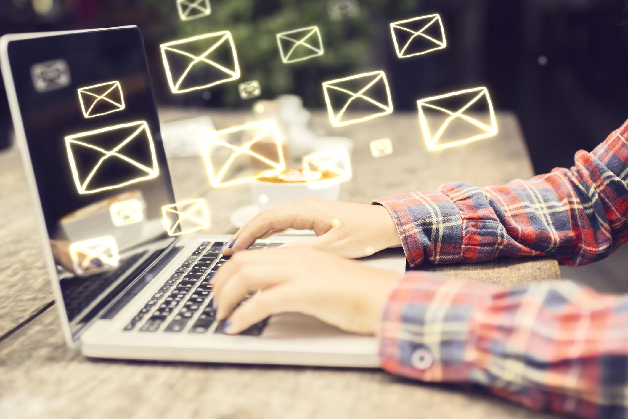gestion email equipo de marketing