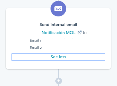 email workflow hubspot