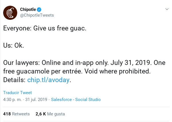Twitter Chipotle