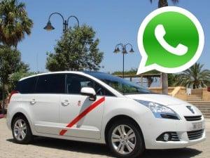 WhatsApp Marketing taxis en Almeria