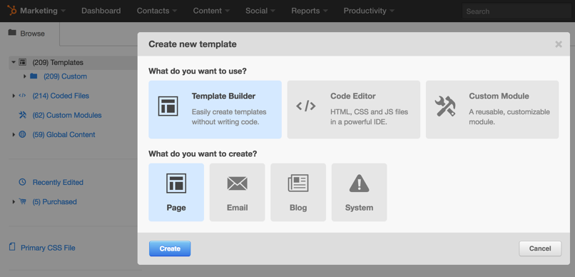 How does the hubspot template builder work hubspot template builder maxwellsz