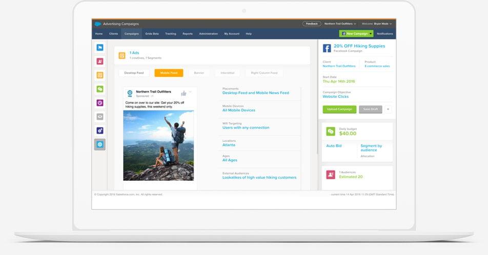 advertising studio marketing cloud