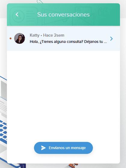 chat html reanudar conversacion