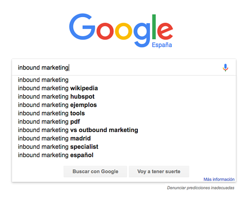como buscar palabras clave gratis google suggest