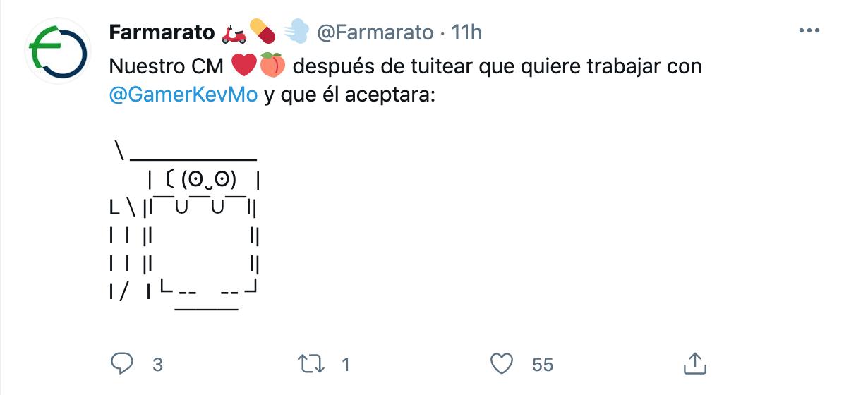 como utilizar twitter ejemplo publicacion