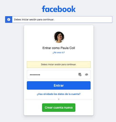 crear pagina facebook empresas paso 2