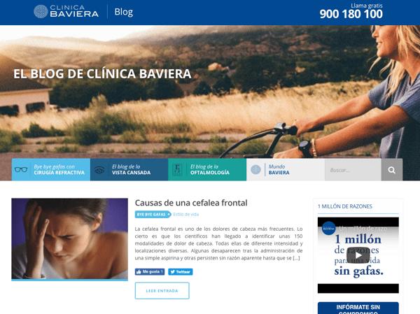 estrategias de una empresa clinica baviera