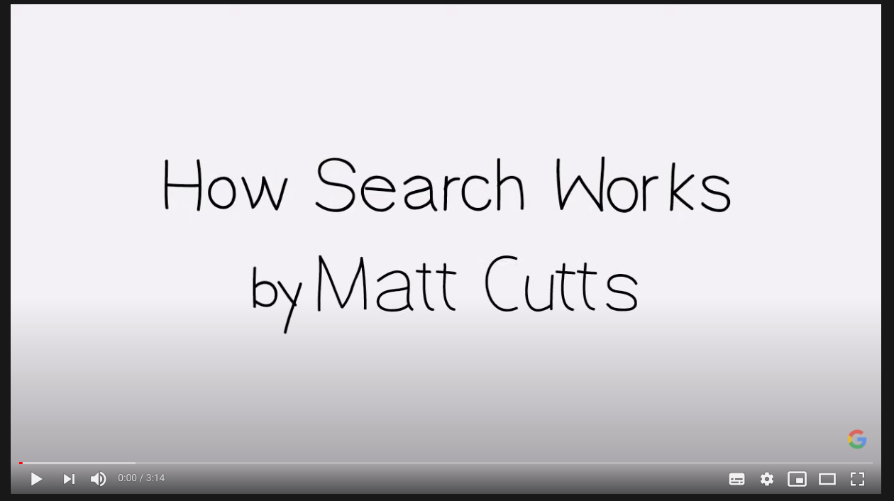 how search google works