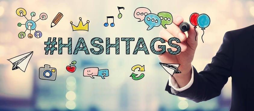 uso hashtags en el marketing online