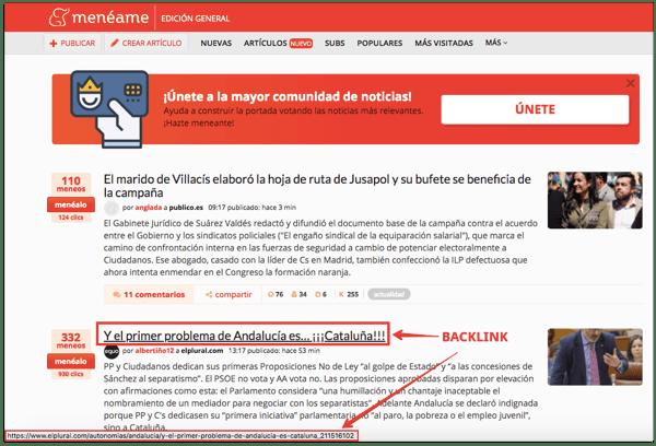 backlinks agregadores de contenido