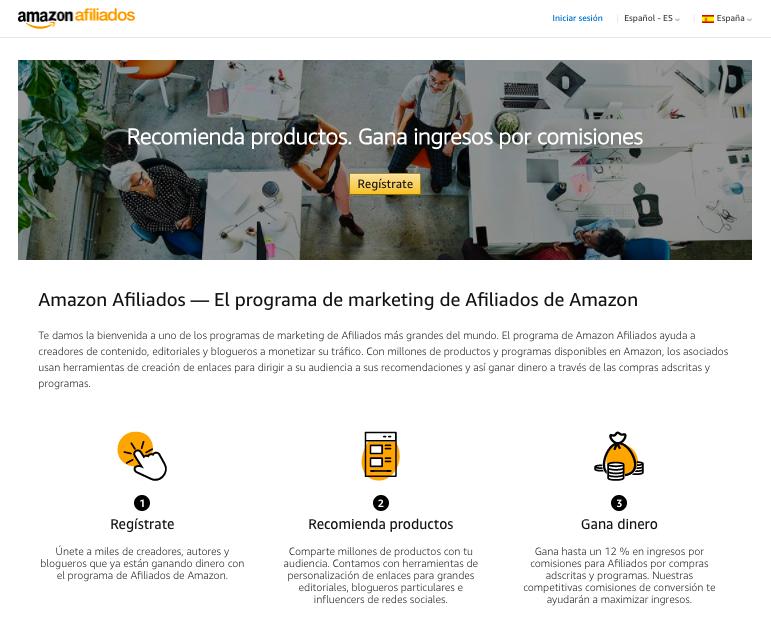 marketing de afiliados que es ejemplo amazon