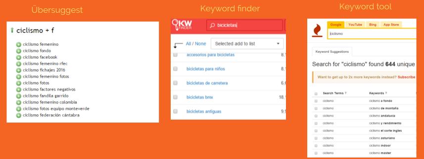 busqueda keywords long tail ubersuggest