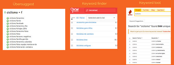 busqueda keywords long tail ubersuggest