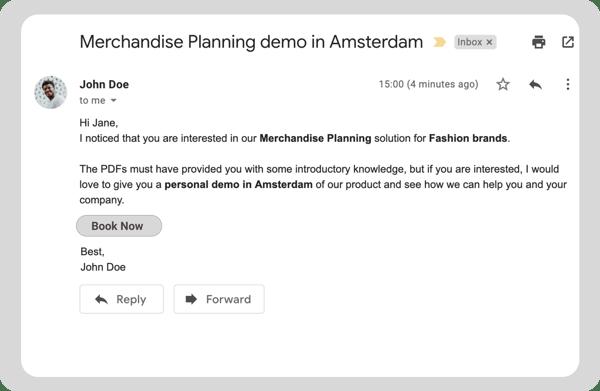 personalizacion web email