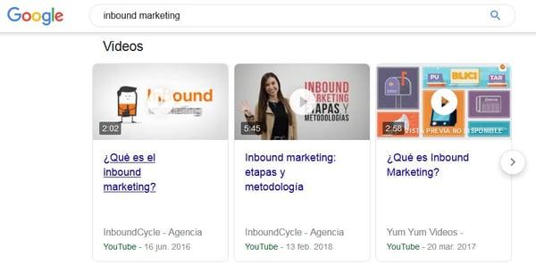 publicidad en YouTube Google