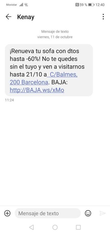 sms marketing kenay