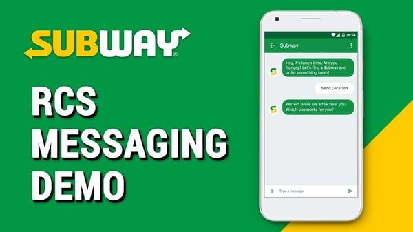 sms marketing subway