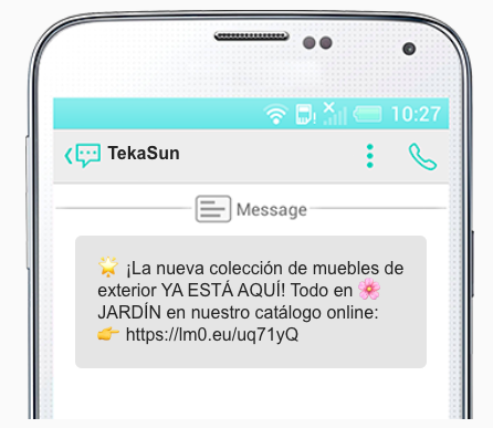 sms marketing tekasun