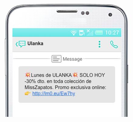 sms marketing ulanka