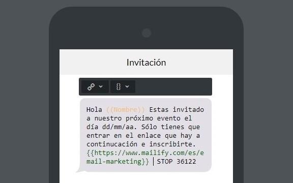 ejemplo campaña sms marketing