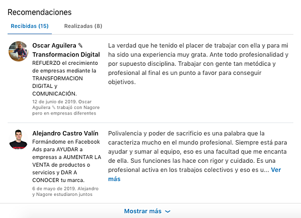 social selling index recomendaciones