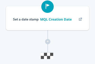 date stamp workflow hubspot
