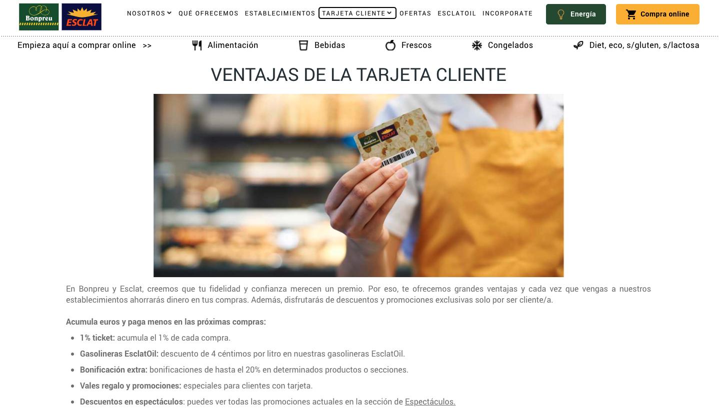 trade marketing que es ejemplo tarjeta cliente