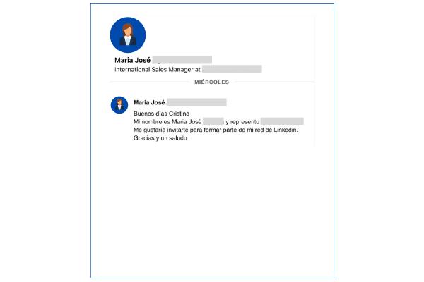 vender en linkedin mensaje no personalizado