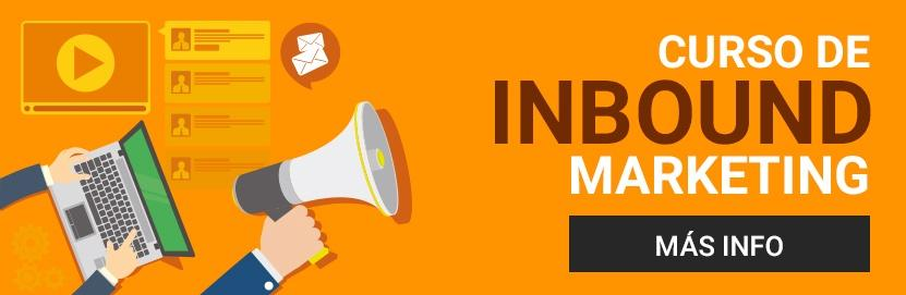 curso online de inbound marketing en español