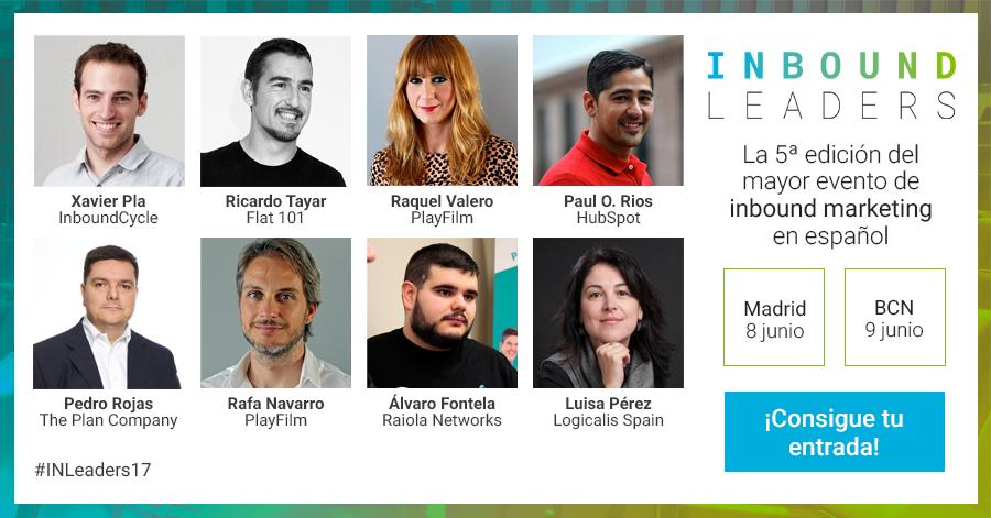Inbound Leaders, 5.ª edición del mayor evento de inbound marketing en español