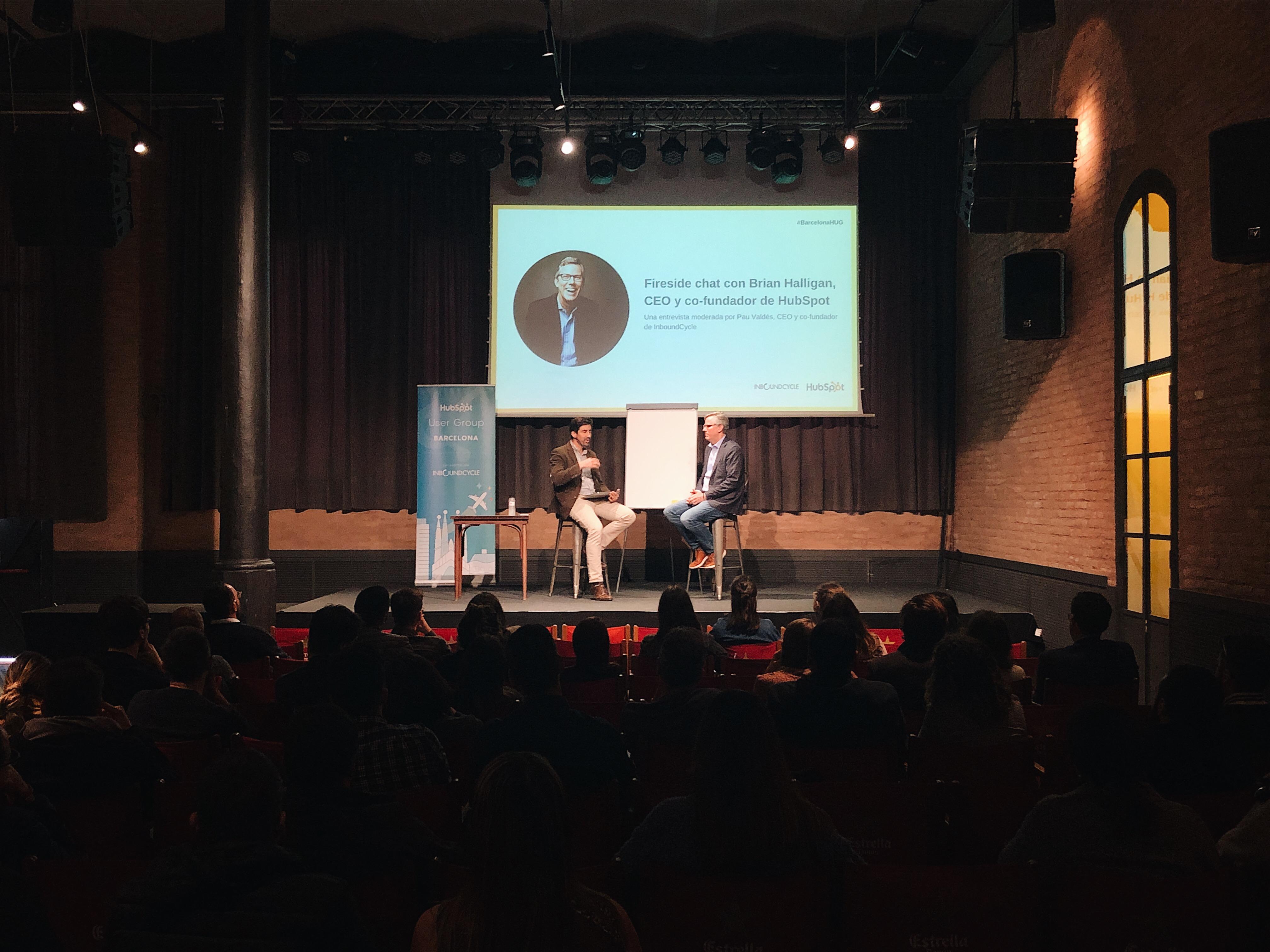 InboundCycle organiza una entrevista en exclusiva con Brian Halligan, CEO y co-fundador de HubSpot