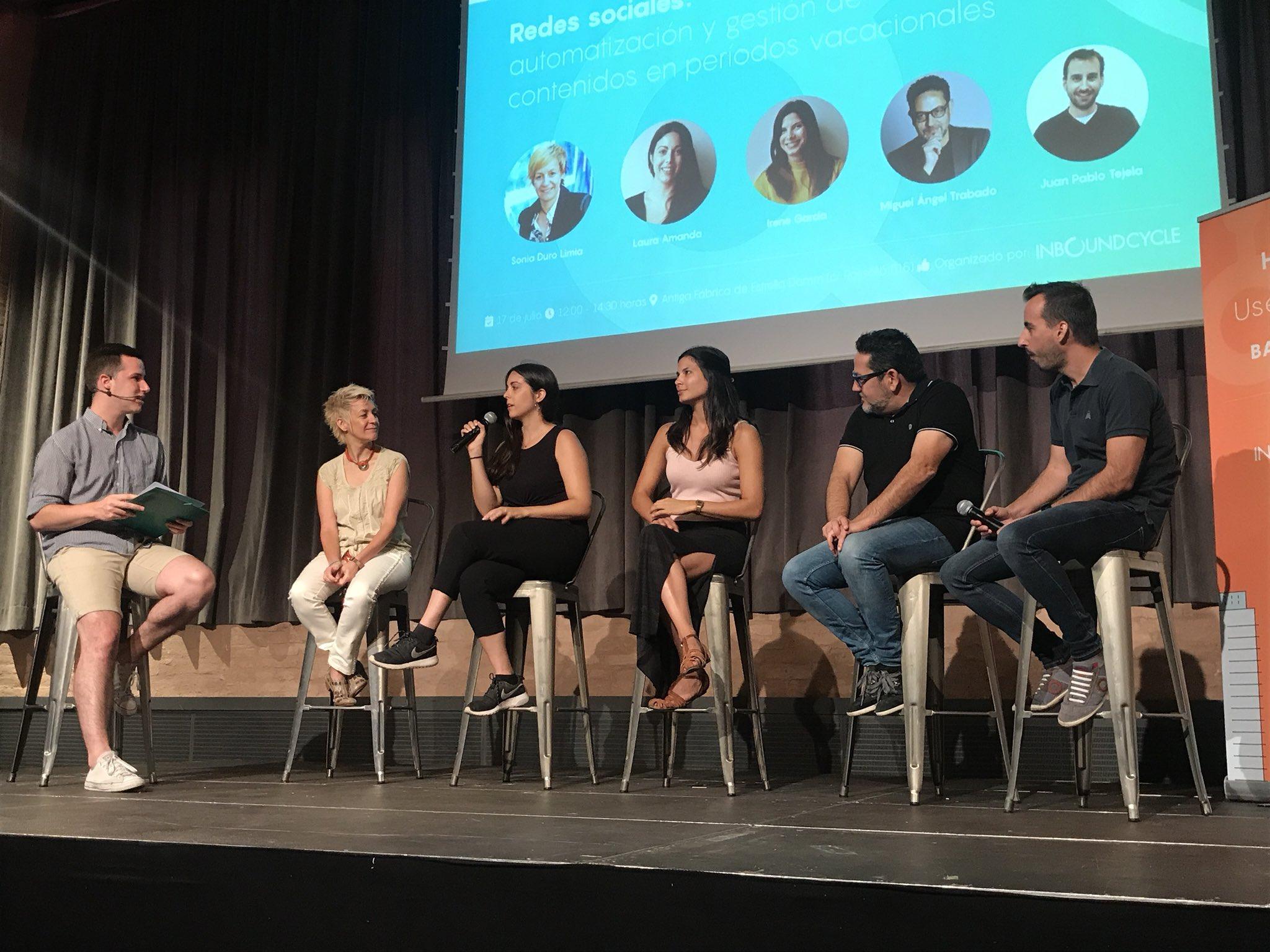 Más de 70 personas se dan cita en el último Barcelona HubSpot User Group sobre redes socialesorganizado por InboundCycle