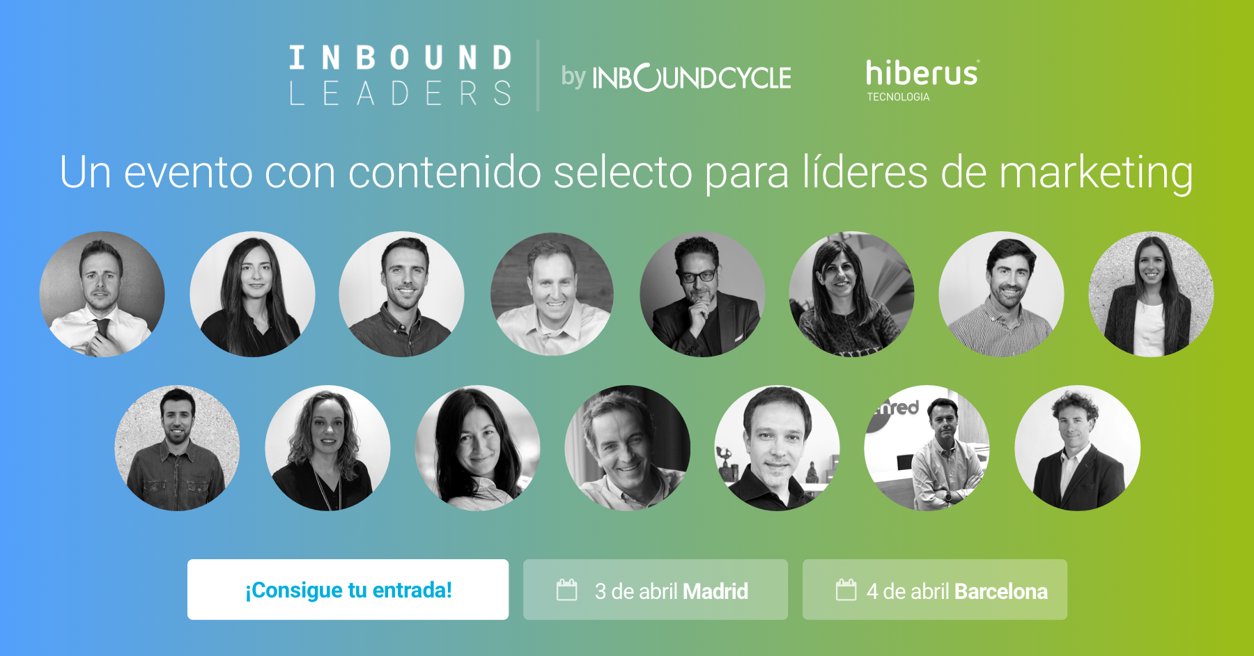 Inbound Leaders 2019 confirma grandes nombres del marketing para cerrar el cartel de la edición