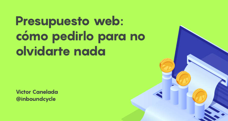 Pedir presupuestos para diseñar tu web: consideraciones previas