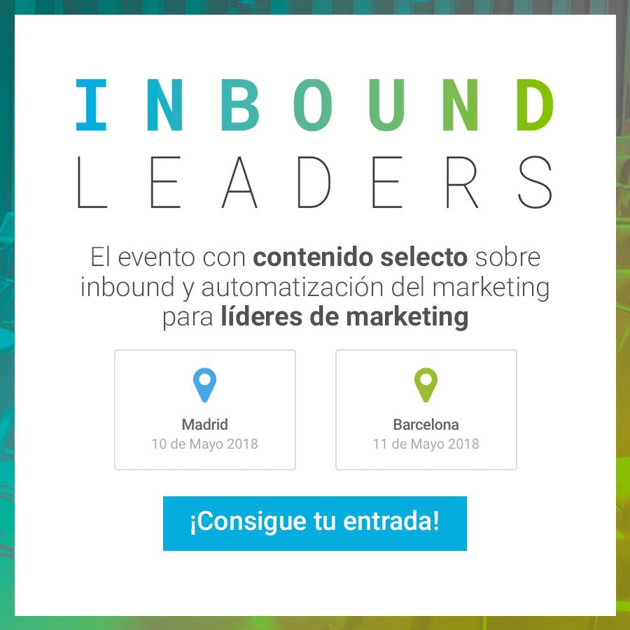 Inbound Leaders 2018 llega a su sexta edición los próximos 10 y 11 de mayo (NdP)