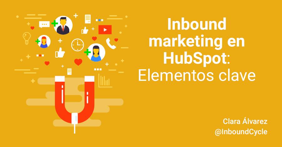 Inbound marketing en HubSpot: elementos clave