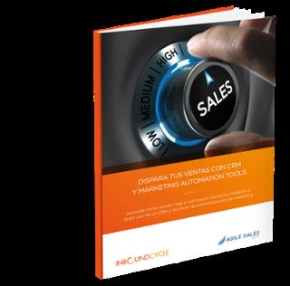 guía de ventas con CRM y marketing automation
